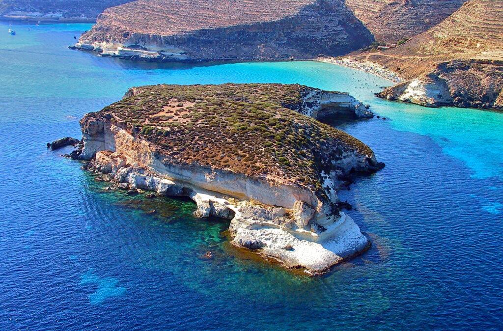 spiagge più belle: l'Isola dei Conigli